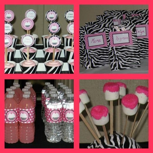 Spa Party Birthday Party Ideas Animal print party Spa party and Spa