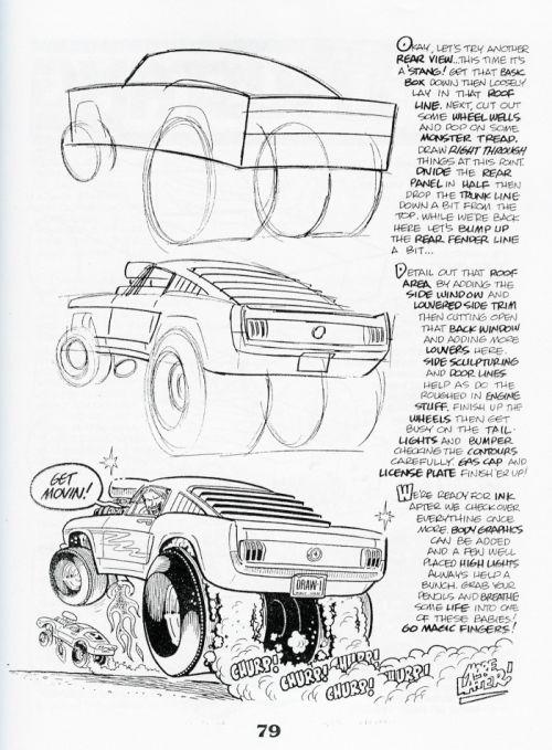 Draw A Cartoon Car Car Drawing For Kids Pinterest Cartoon
