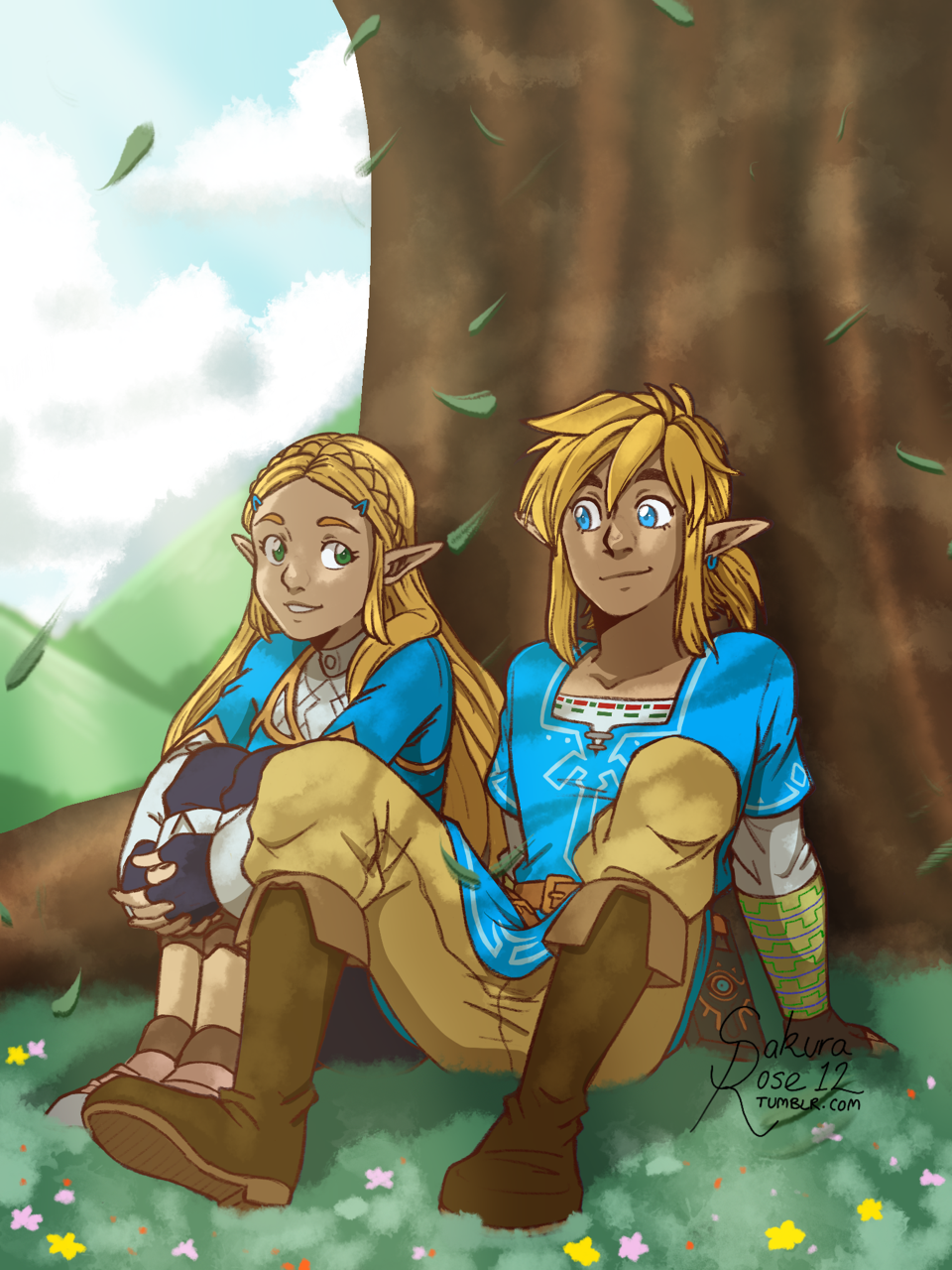 Link and Zelda | Breath of the Wild