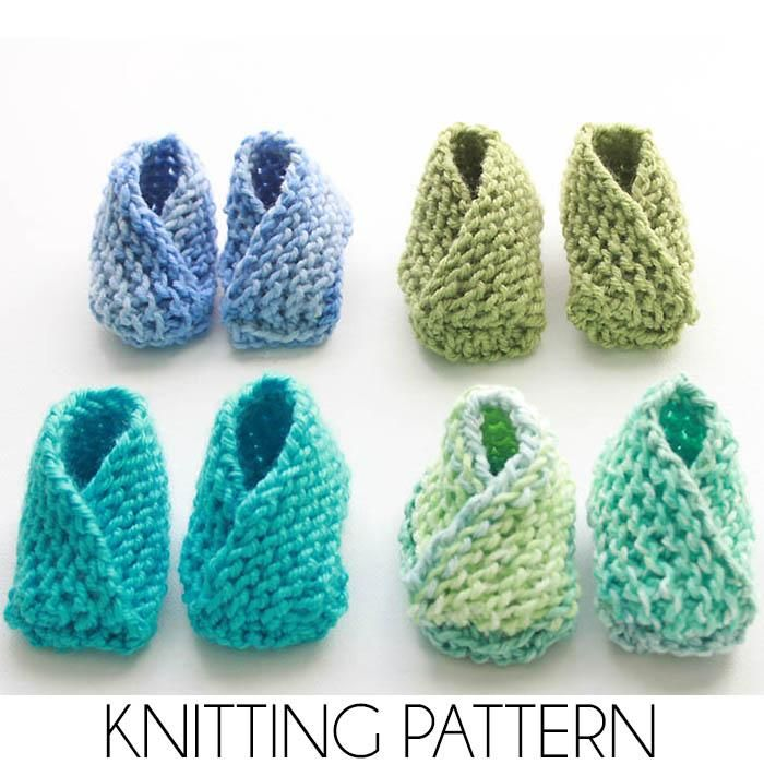 Easiest Baby Booties Ever Knitting Pattern Baby Booties Knit