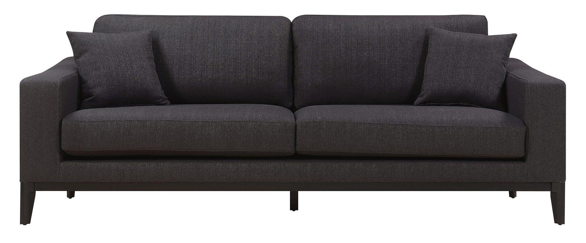 "Olivia Canvas 86"" Square Arm Sofa | Elle decor, Furniture ..."