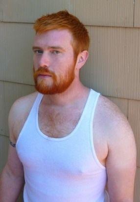 Wife beater shirt hairy