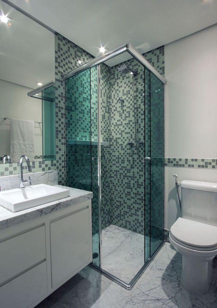 salle de bain italienne petite surface les deux pieds sur terre salle de bain pinterest. Black Bedroom Furniture Sets. Home Design Ideas