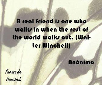 Frases De Amistad En Ingles Real Friends
