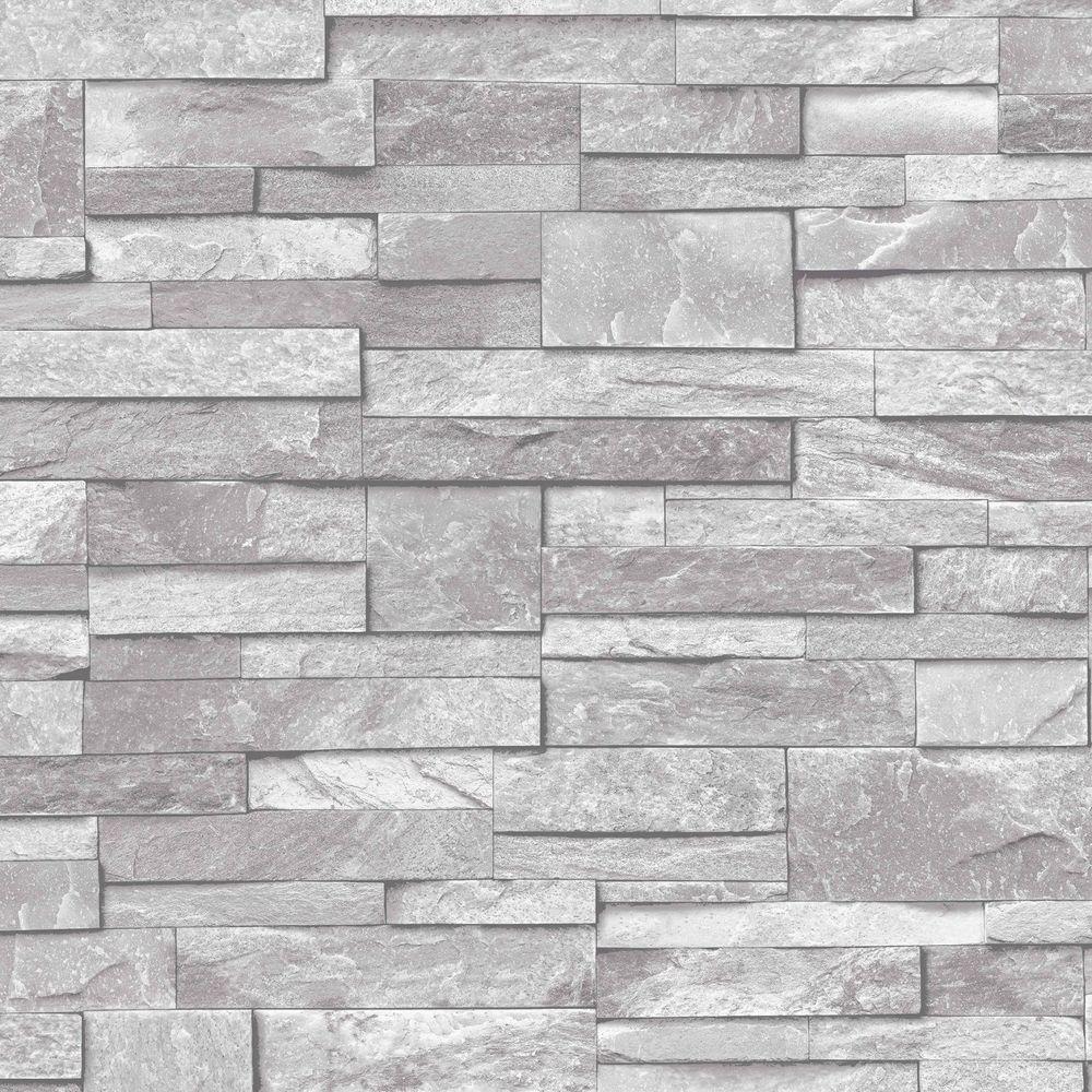 Details about 3D Vinyl Split Face Tile Stone Brick Effect