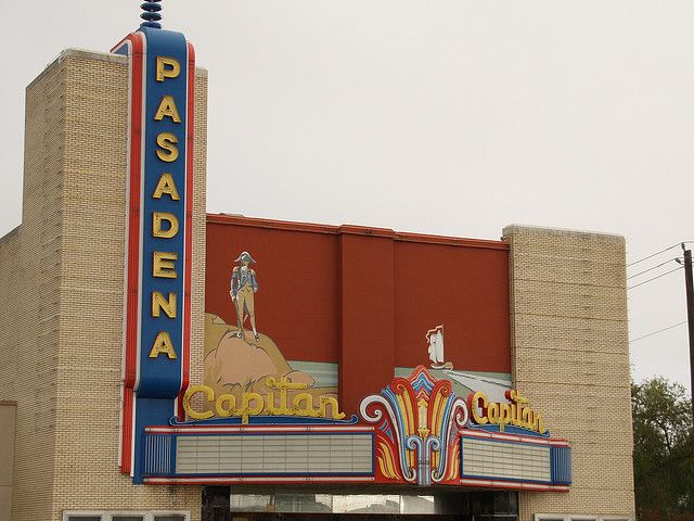 Haunted hollywood movie theater pasadena texas