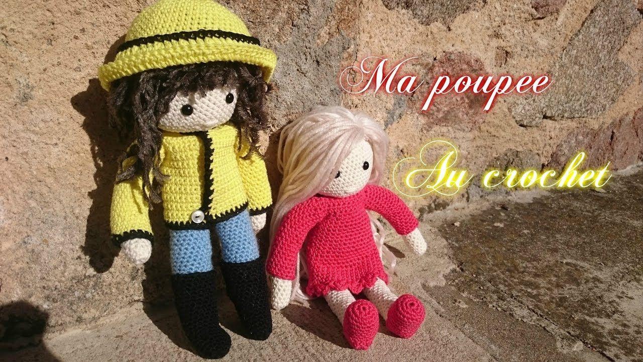 "Tuto Crochet "" N°1: Ma poupée au crochet """