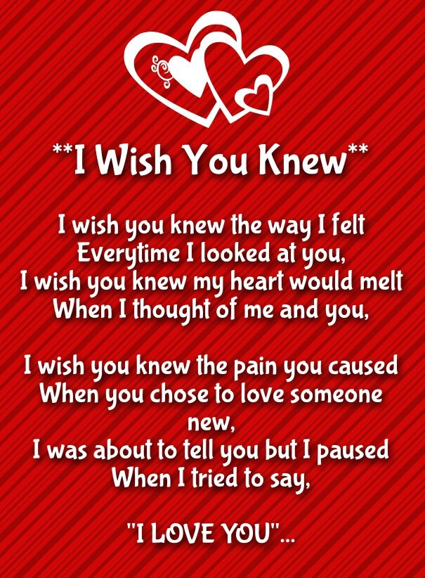 25+ Short I Love You Poems for Her with Images | Love you ...