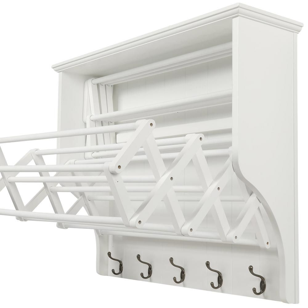 Home Decorators Collection Madison 30 In H White Accordion Wall