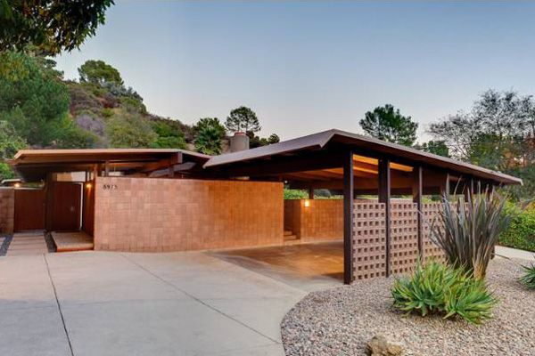 Laurel Canyon Mid Century Modern Home Los Angeles