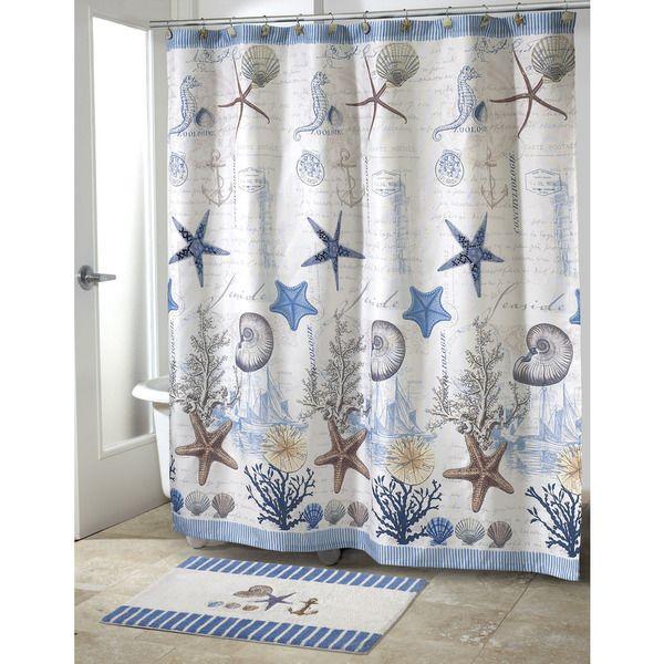 Avanti Antigua Beach Theme Shower Curtain