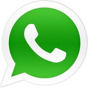 Whatsapp logo. its a app that allows your to message