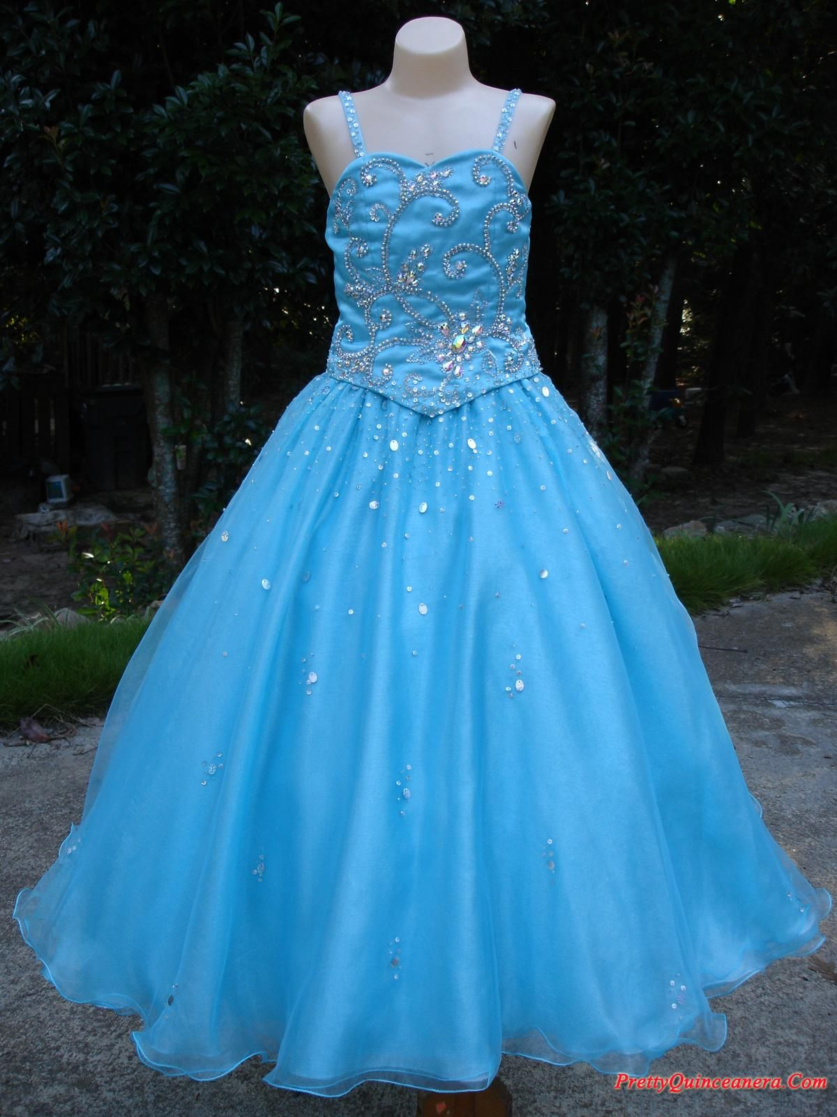 gold little girl pageant gowns - Google Search   my future prom ...