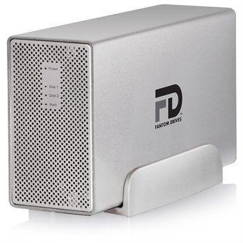 Fantom Drives MD3U4000 Gforce3 MegaDisk 4TB USB 3.0/2.0 External Hard Drive - RAID (RAID 1, 0, JBOD, Spanning)