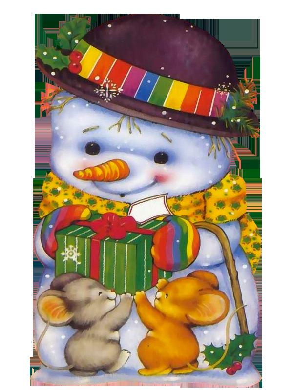 Дню, картинки детские зверята новогодние