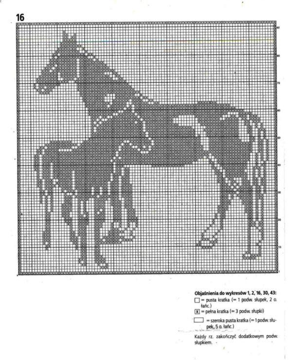Gallery.ru / Фото #61 - Filet Crochet pour Point de Croix 2 - Mongia ...