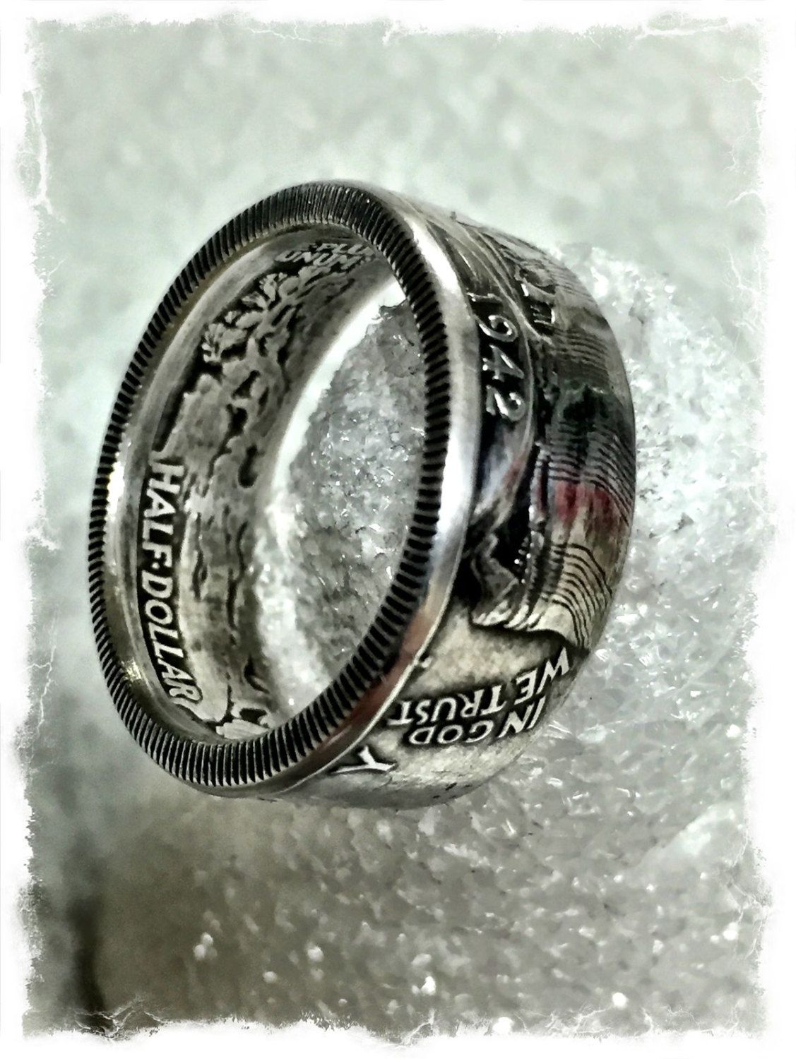 Size 6-13 Canada Silver Coin Ring