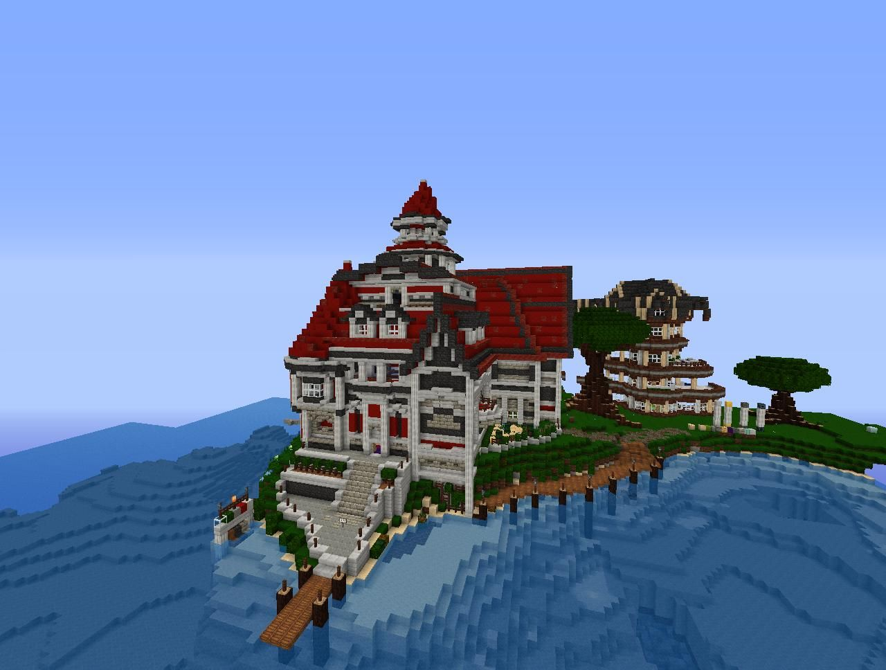 ^ 1000+ images about minecraft on Pinterest  Mansions, Minecraft ...