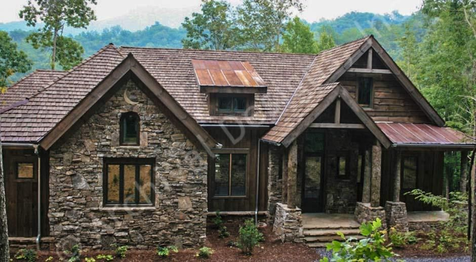 Balsam mountain lodge rustic house plans luxury home for Balsam house