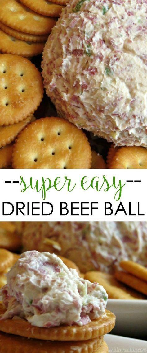 Dried Beef Ball   Recipe   Beef balls recipe, Cheese ball ...