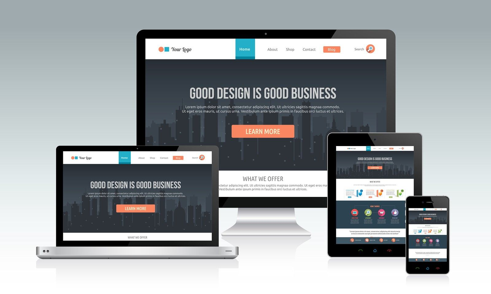 Top 5 Advantages Of Responsive Web Design For A Business In Simple Words, Responsive  Web Design Can Be Defined As A Simple Means Of Making The Websites ...