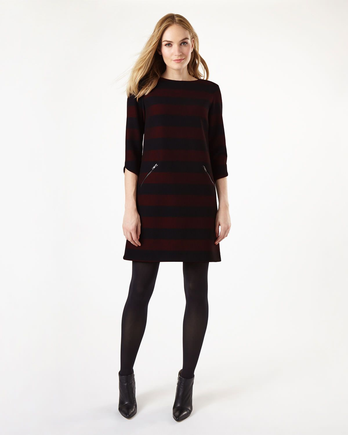 Phase eight sienna tunic dress red the colours are good for you