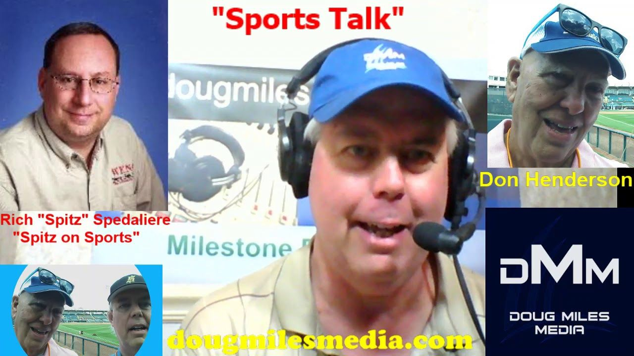 """""""Sports Talk"""" with Don Henderson and Doug Miles guest WENG"""