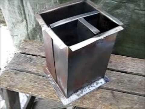 Rocket Stove Ideas 21 Box Rocket Youtube With Images Rocket Stoves Stove Metal Box