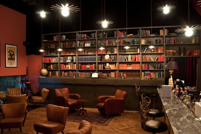 Bars with books - library bars - pubs with books - Best London bars - Tatler