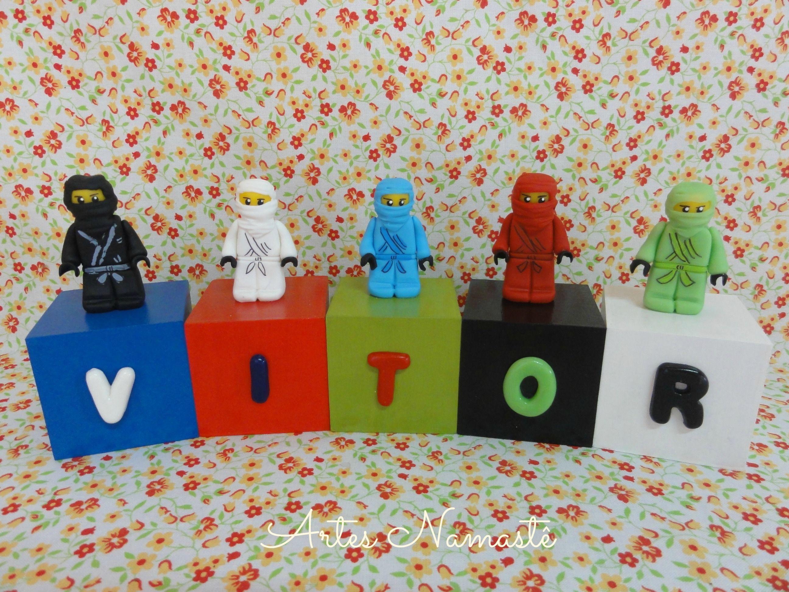 Cubos personalizados Lego Ninjago