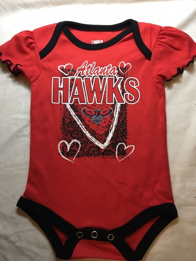 Atlanta hawks nba one piece baby outfit 03 months girl