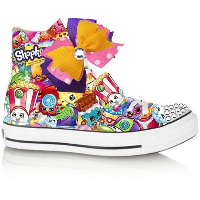 Red Limited Edition Shopkins POPPY POPCORN Costume Shoe (CONVERSE)