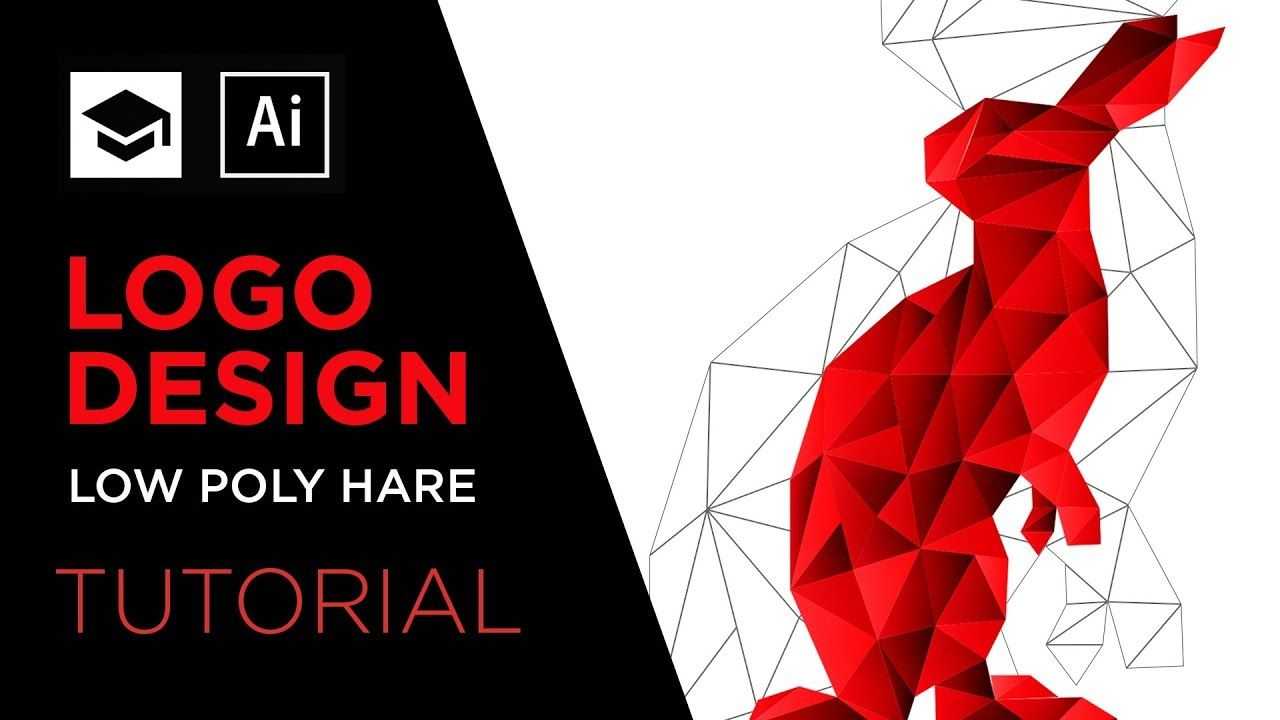 How To Design A Low Poly logo Adobe Illustrator