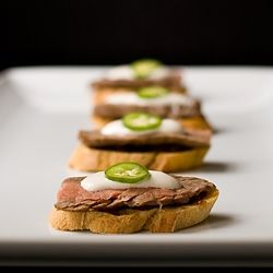 Steak Crostini by savorysimple
