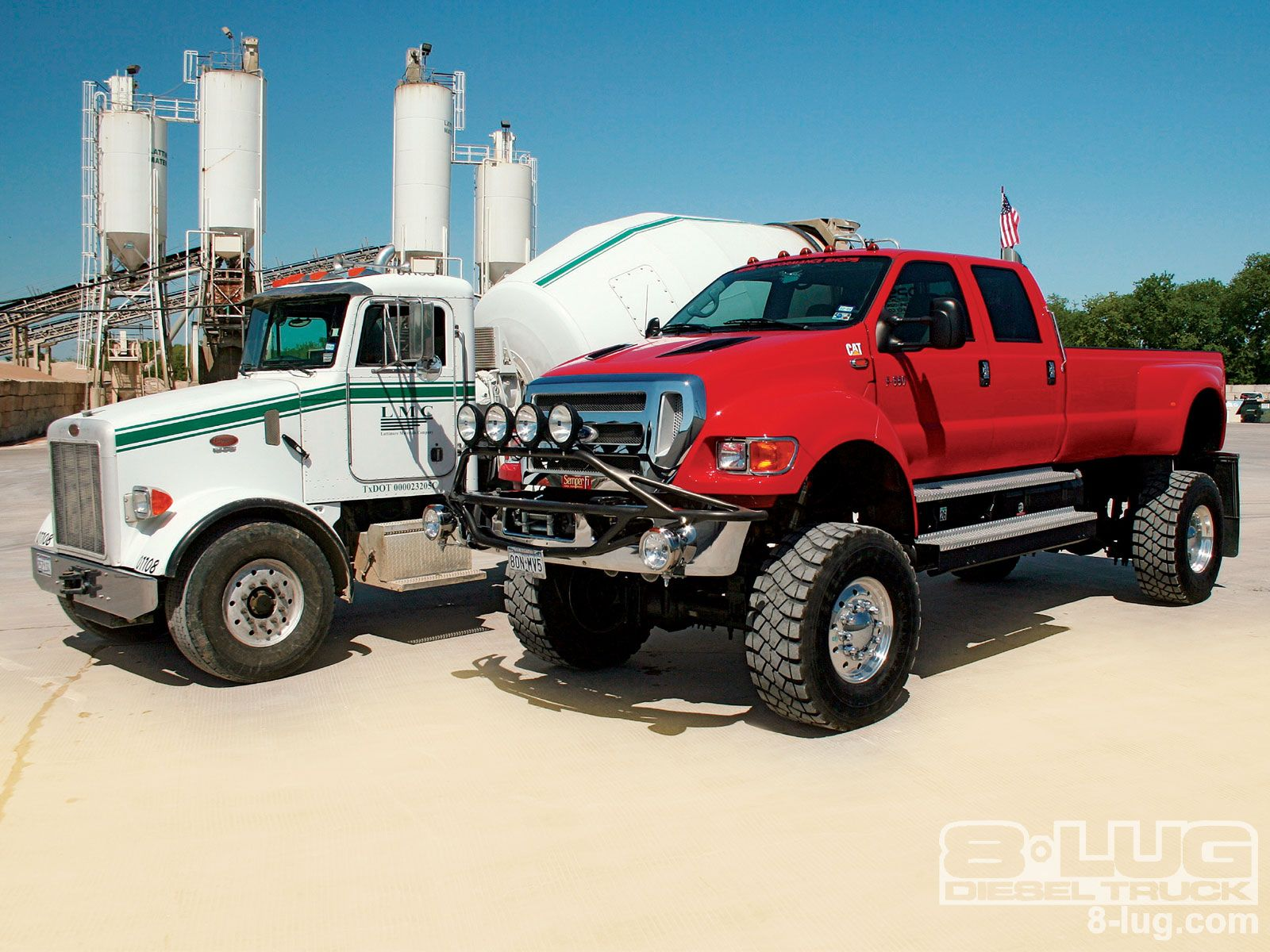 Ford f650 lifted trucks