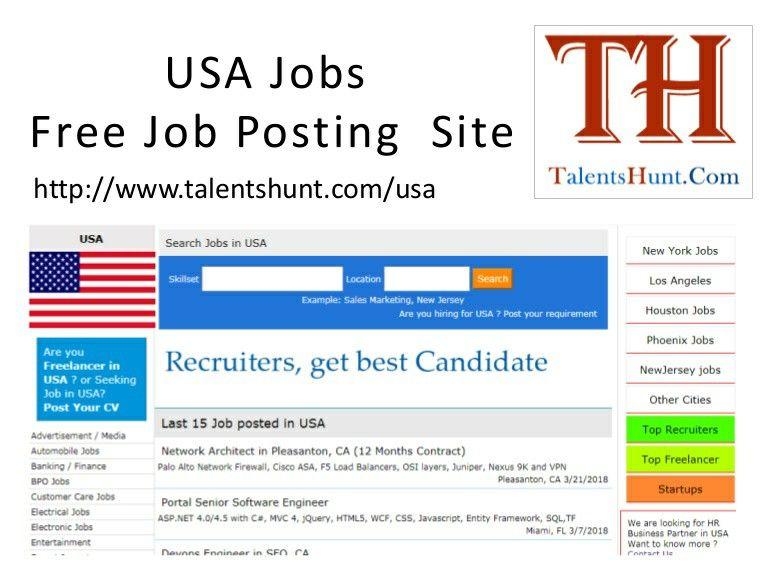 Pin On Job In Usa