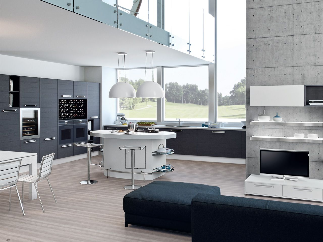 ADELE Project - Cucina Lube Moderna | Adele, Kitchens and Spaces