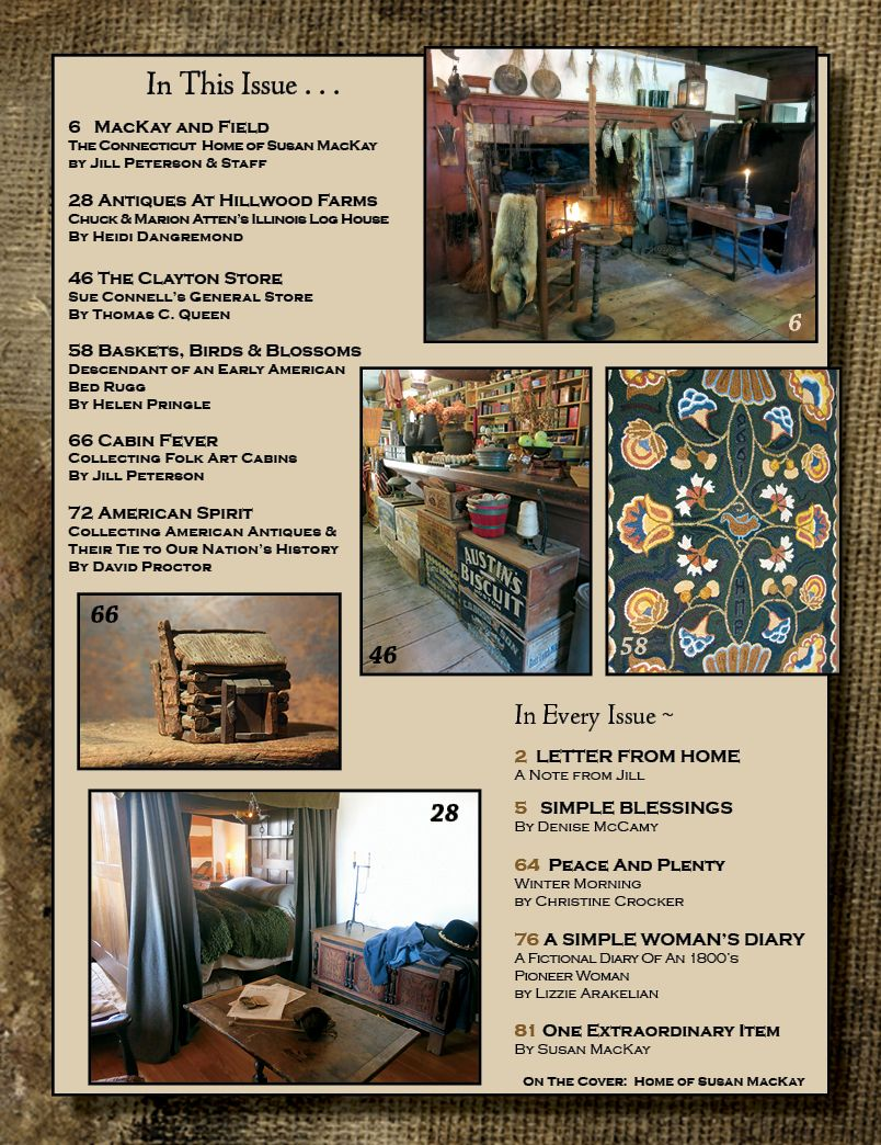 A Simple Life Magazine Winter 2017 Issue Ships Approx Dec 15th Table Of Contents Life Magazine Simple Log Homes