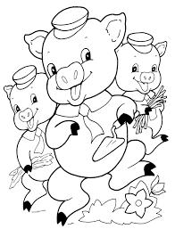 Resultado De Imagen Para Tres Chanchitos Para Pintar Coloring Books Free Coloring Pages Three Little Pigs