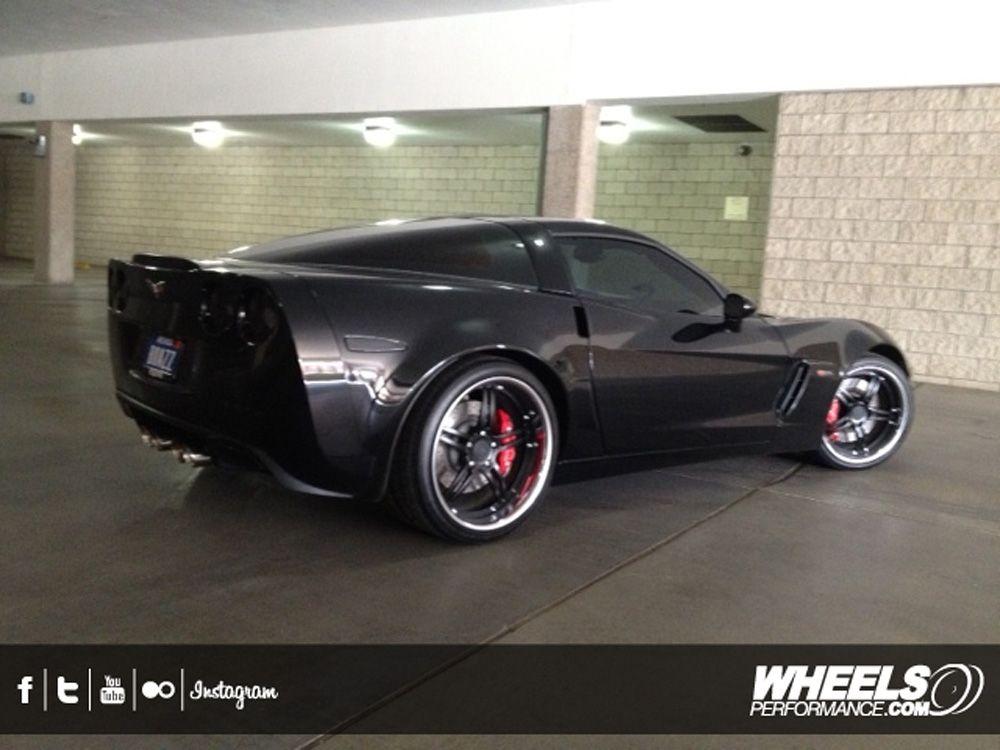 Our Client S Chevrolet Corvette C6 Z06 With 19 20 360 Forged Spec 5ive Wheels Www Wheelsperformance Com Dream Cars Black Car Chevrolet Corvette