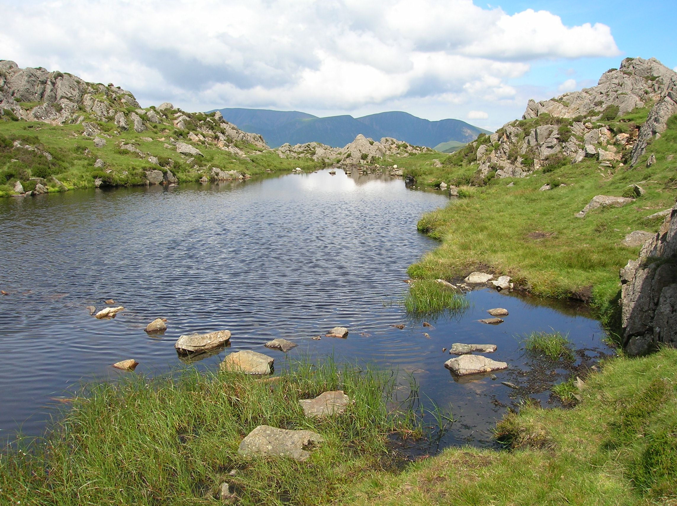Small tarn on Haystacks | Lake district, Lake, England on Kingdom Outdoor Living id=86910