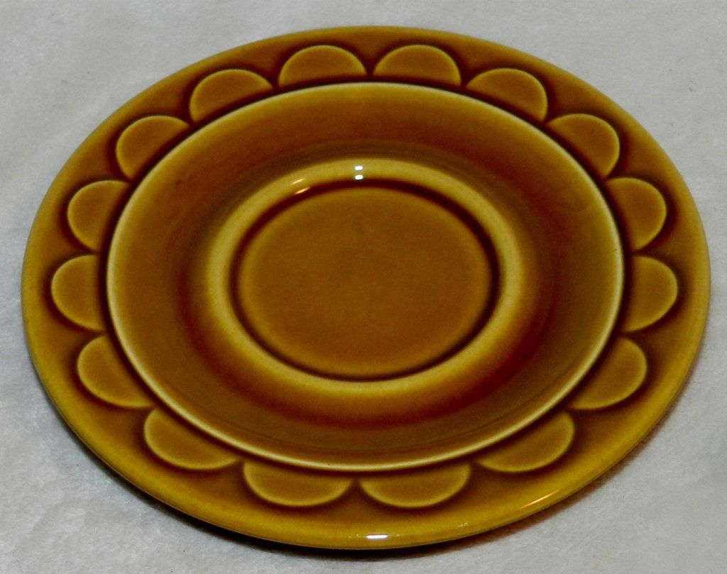 1970's Homer Laughlin Coventry Castilian Replacement Saucers by PeggysVintageVariety on Etsy