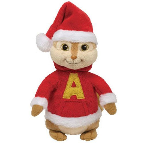 ty stuffed animals ty beanie baby alvin with holiday hat alvin