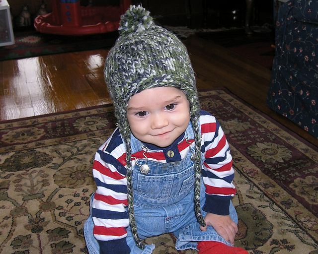 A Quick And Easy Earflap Hat Pattern For Babies And Toddlers That