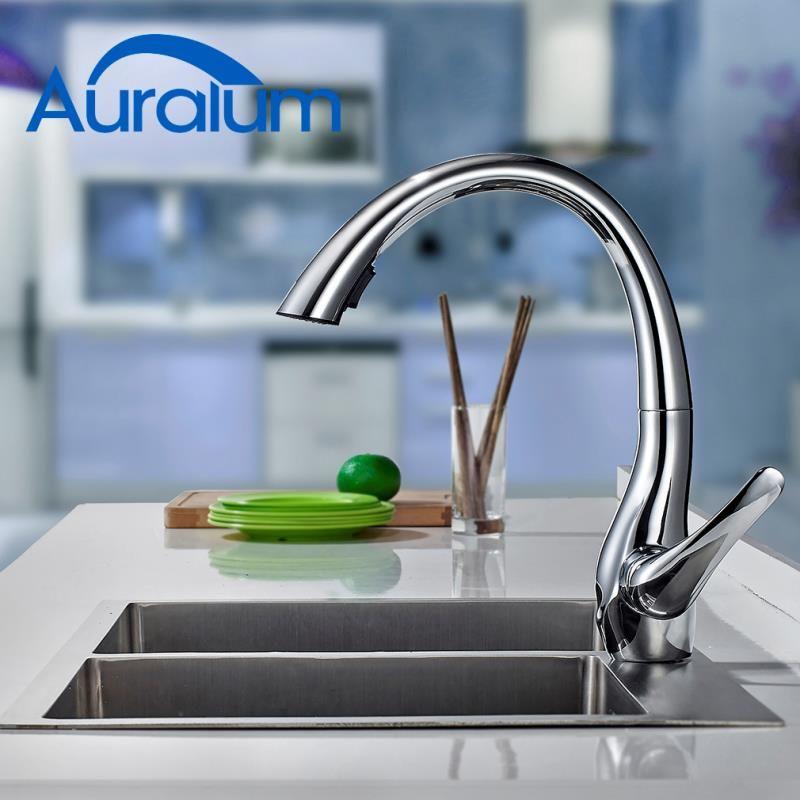 Rubinetto Estraibile Per Cucina High Arc Kitchen Faucet Sink Sink Taps
