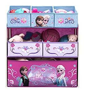🏰 Spielzeugregal Frozen | Regal für das Kinderzimmer einer ... | {Kinderzimmereinrichtung 36}
