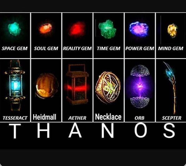 marvel film universe infinity stones