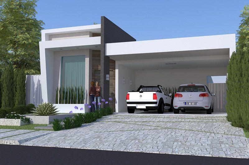 Planta De Casa Com Piscina E Hidro Modelos Casas Em 2019