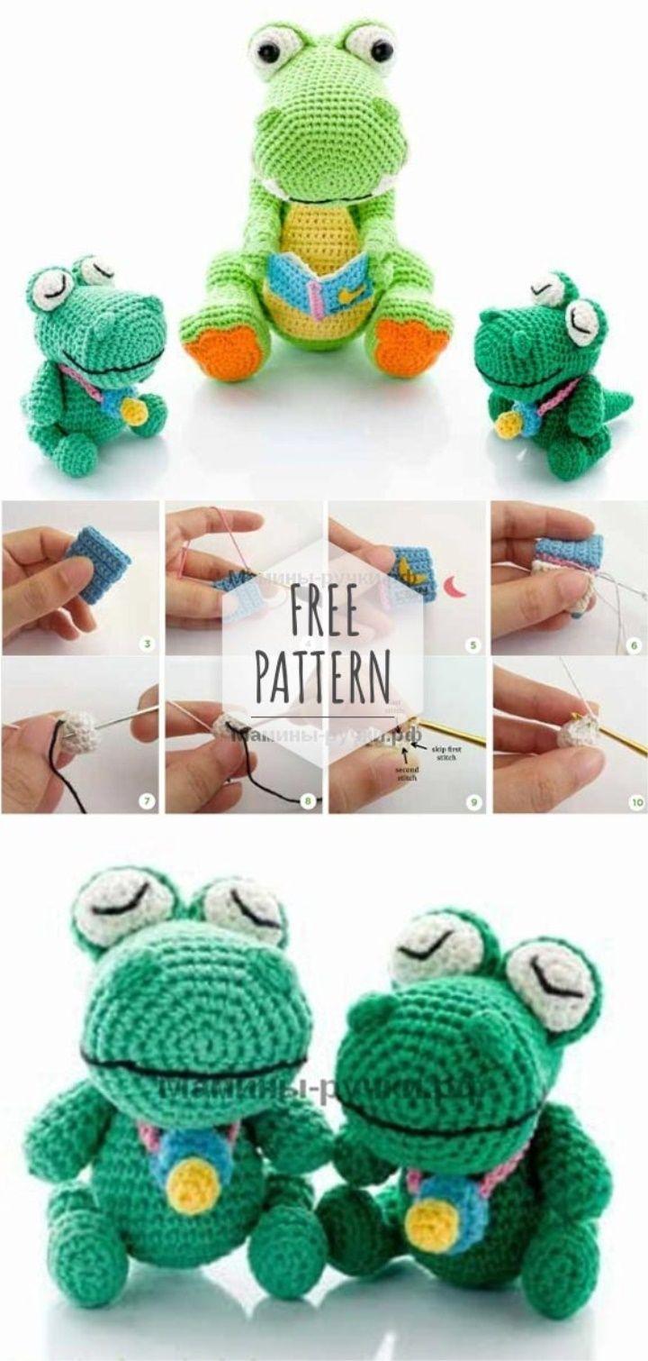 Amigurumi Dinosaur Free Pattern | Tejido | Pinterest | Breien ...
