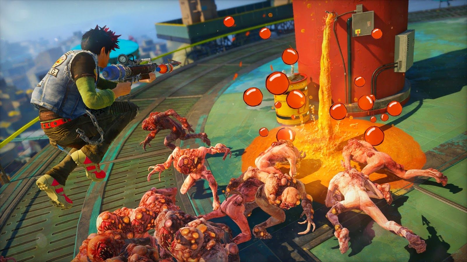 Gameplayaholic: Sunset Overdrive gameplay en trailer [Xbox One]